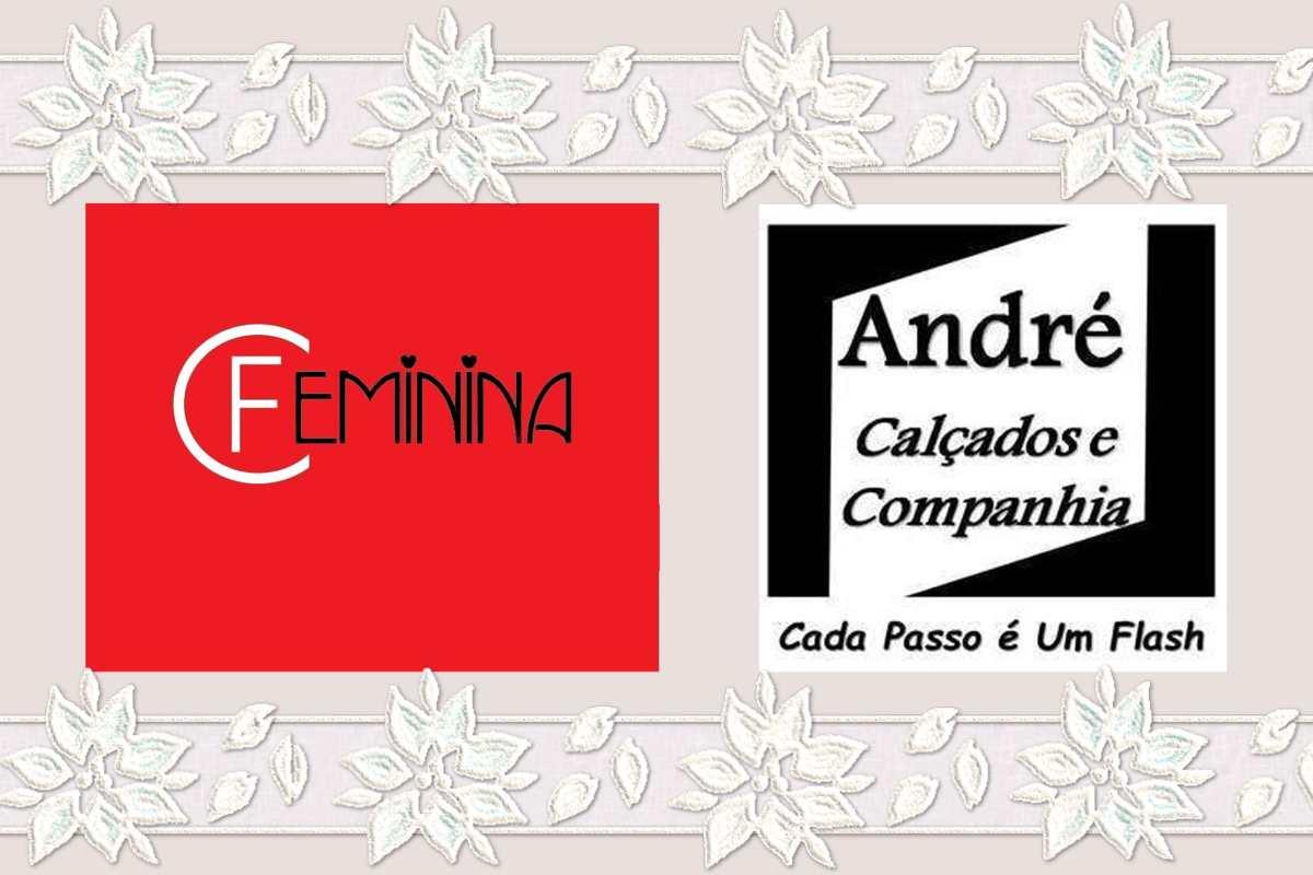 Convite.Desfile Feminina Modas/André Calçados