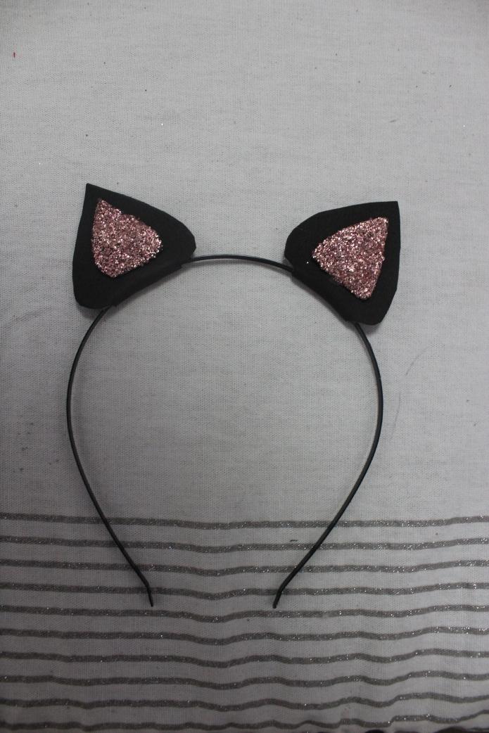 tiara de orelha de gato